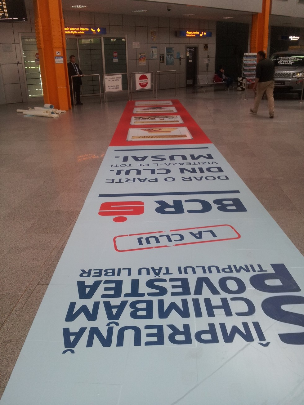 floor graphic vinyl